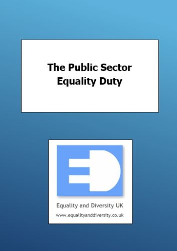 Public Sector Equality Duty Pocket Book