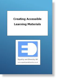 Creating Accessible Learning Materials Pocket Book
