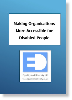 Making Organisations more Accessible for Disabled People Pocket Book