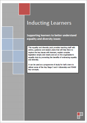 Equality and Diversity Induction Pack Learners