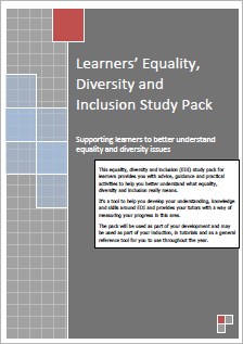 Equality, Diversity and Inclusion Study Pack for Learners