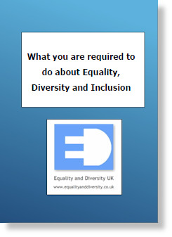 What you are required to do about Equality, Diversity and Inclusion Pocket Book