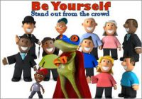 Posters - Be Yourself 2