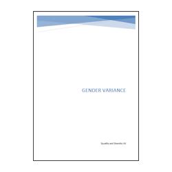 Gender Variance Booklet