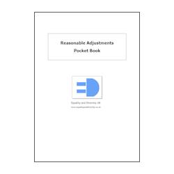 Reasonable Adjustments Pocket Book