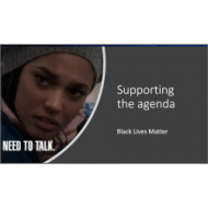 Black Lives Matter - Supporting the Agenda